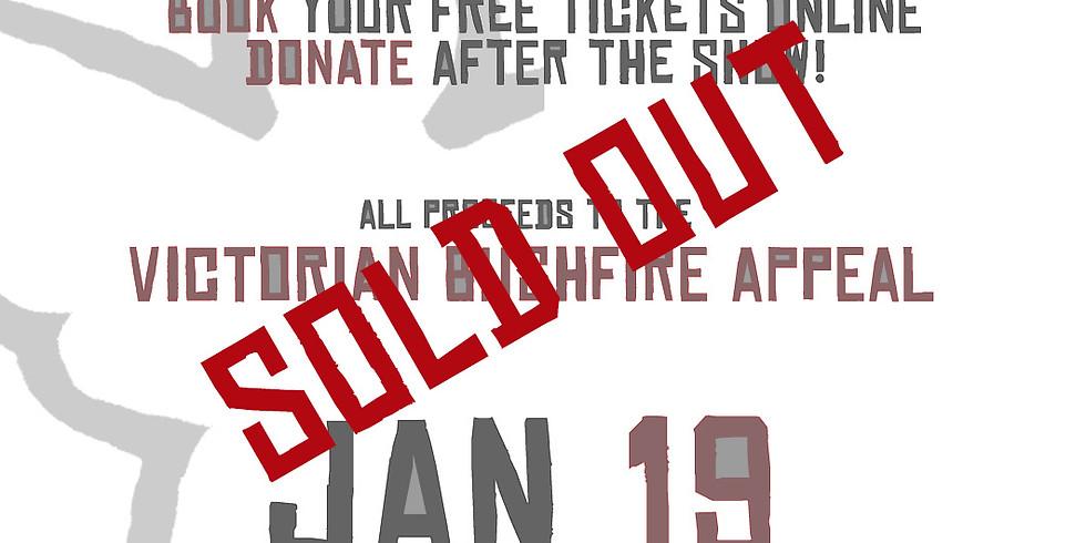 Bushfire Relief Appeal - Sunday Jan 19