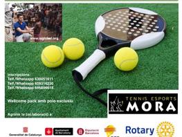 """Recaudación de más de 5.000 EUR en el """"1. Torneo de Pádel solidario Rotary / Pian 2017""""."""