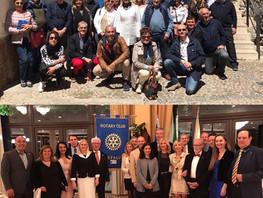 Hermanamiento con el Rotary Club Cefalù, Sicilia