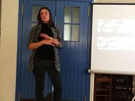 Conferencia con Gemma Sunyer sobre Playground y la violencia de género