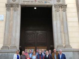 Rotary Club Mataró-Maresme con visita guiada en la Basílica de Santa Maria de Mataró y conferencia c
