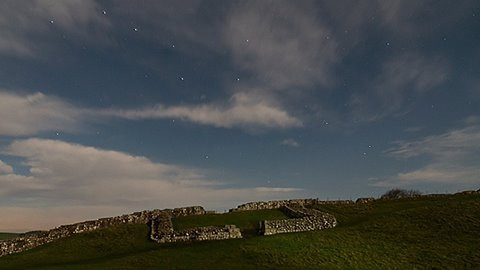 Night Shoot at Hadrian's Wall