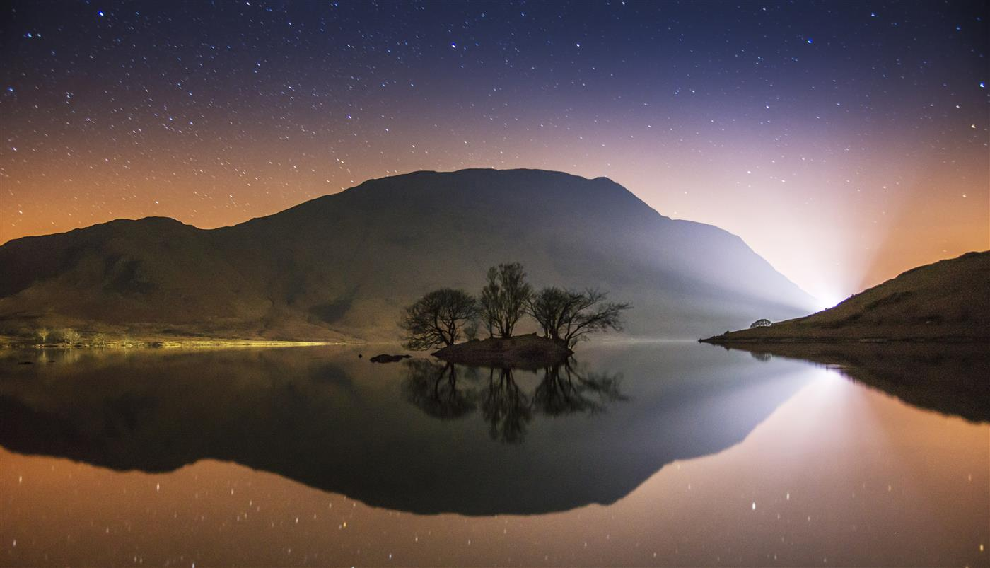 Starry Night Crummock Water