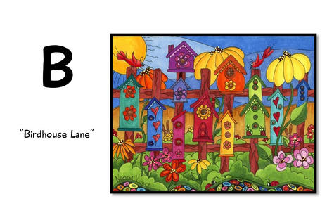 B is for Birdhouse Lane