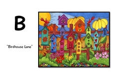 B is for Birdhouse Lane
