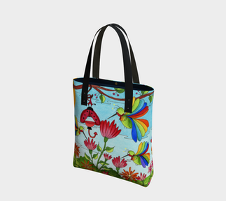 Happy Hummers Tote