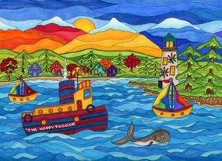 Happy Tugboat
