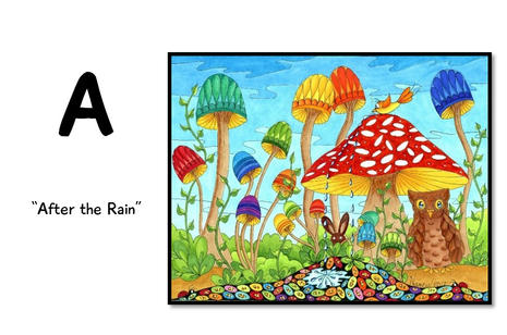 A is for After the Rain