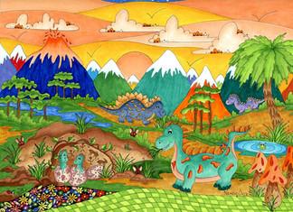 Dinosaurs Summer