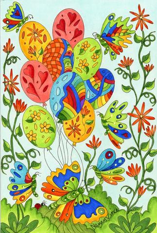 Balloons & Butterflies