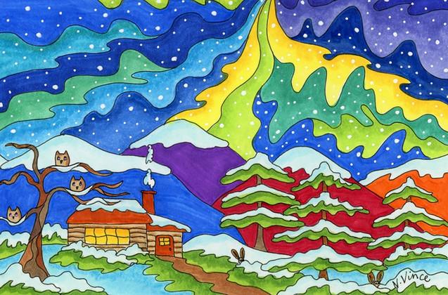 Night Sky Dances