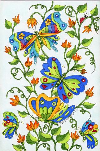 Beauty Among Blooms