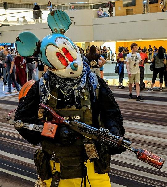 Crazy rat cosplay dragon con 2018