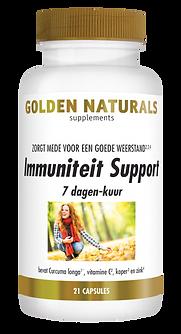_Golden Naturals Immuniteit Support 7 da