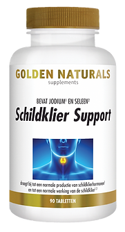 _Golden Naturals Schildklier Support 90