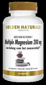 _Golden Naturals Multiple Magnesium 200