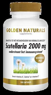 _Golden Naturals Scutellaria 2000 mg 180