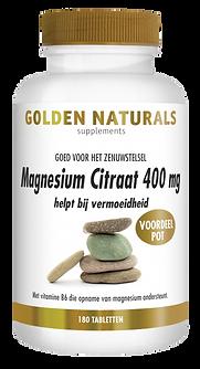 _Golden Naturals Magnesium Citraat 400 m