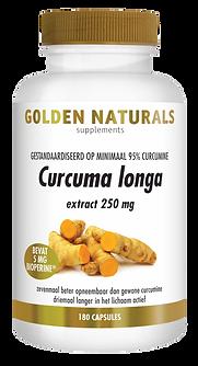 _Golden Naturals Curcuma longa 180caps V