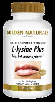 _Golden Naturals L-lysine Plus 60 tabl G
