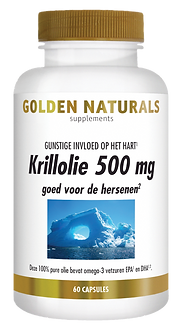 _Golden Naturals Krillolie 500 mg 60 cap