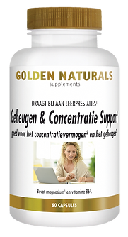_Golden Naturals Geheugen en concentrati