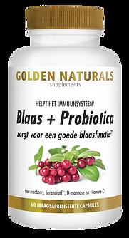 _Golden Naturals Blaas en Probiotica 60