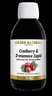 _Golden Naturals Cranberry & D-mannose L