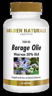 _Golden Naturals Borage Olie 60 caps GN-