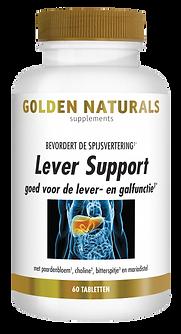 _Golden Naturals Lever Support 60 vegeta