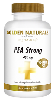 _Golden Naturals PEA Strong 400 mg Voord