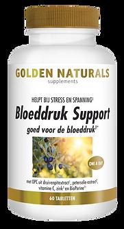 _Golden Naturals Bloeddruk Support 60 ve