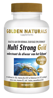 _Golden Naturals Multi Strong Gold 180 t
