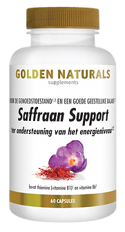 _Golden Naturals Saffraan Formule 60 cap