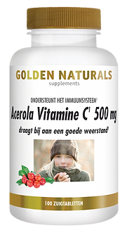 _Golden Naturals Acerola Vitamine C 100
