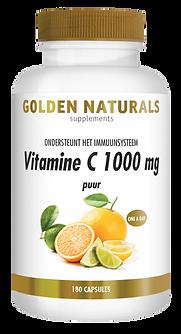 _Golden Naturals Vitamine C1000 mg Puur