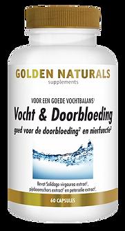 _Golden Naturals Vocht & Doorbloeding 60