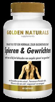 _Golden Naturals Spieren & Gewrichten 60
