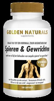 _Golden Naturals Spieren & Gewrichten 18