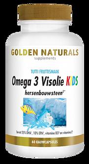 _Golden Naturals Omega 3 Visolie Kids 60