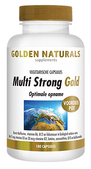 _Golden Naturals Multi Strong Gold 180 v