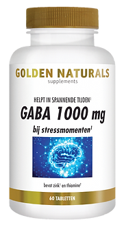 _Golden Naturals GABA 1000 mg 60 vegetar