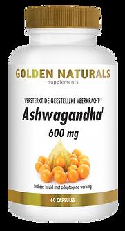 _Golden Naturals Ashwagandha 60 vega cap