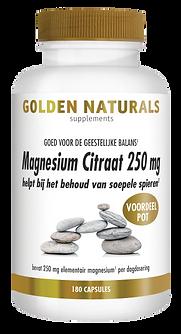 _Golden Naturals Magnesium Citraat 250 m