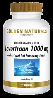 _Golden Naturals Levertraan 1000 mg 90 s
