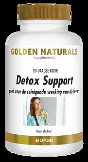 _Golden Naturals Detox Support 60 vega c