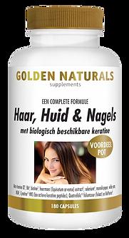 _Golden Naturals Haar-Huid-Nagels 180 ca