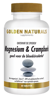 _Golden Naturals Magnesium en Crampbark
