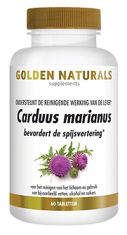 _Golden Naturals Carduus marianus 60 tab