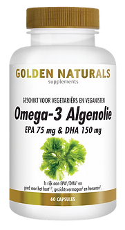 _Golden Naturals Omega 3 Algenolie 60 li